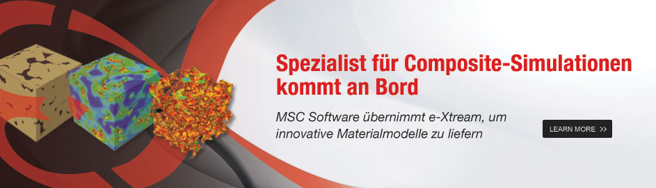 MSC Software Acquires Composite Material Simulation Leader e-Xstream